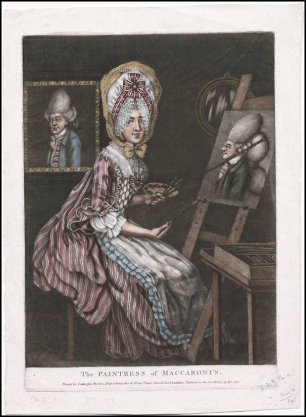 paintress of maccaroni