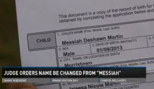 Messiah.Deshawn.Martin.birth.certificate